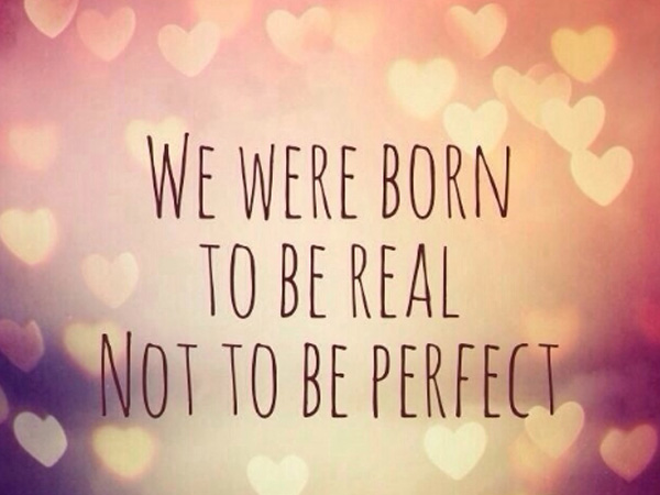 We were born to be real